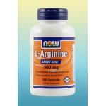 L-Arginine 500 mg-100 Vcaps®
